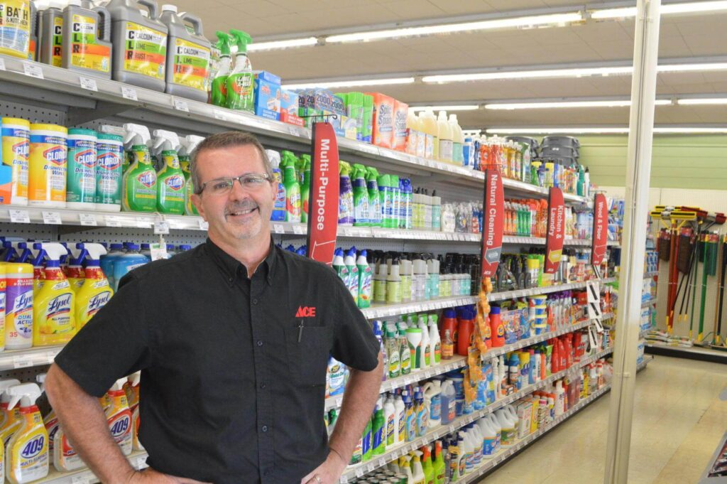 Ace Hardware store manager