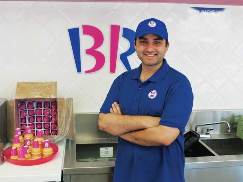 Baskin Robbins Manager