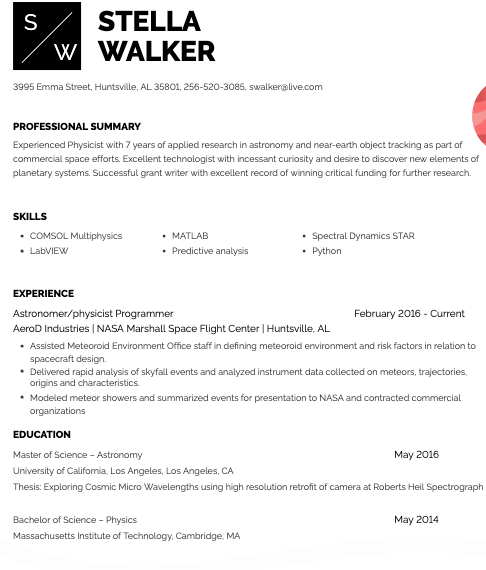 Buffalo Wild Wings Assistant Manager Resume Template