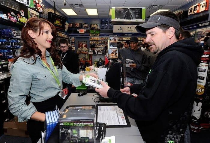 Gamestop Sales Associate