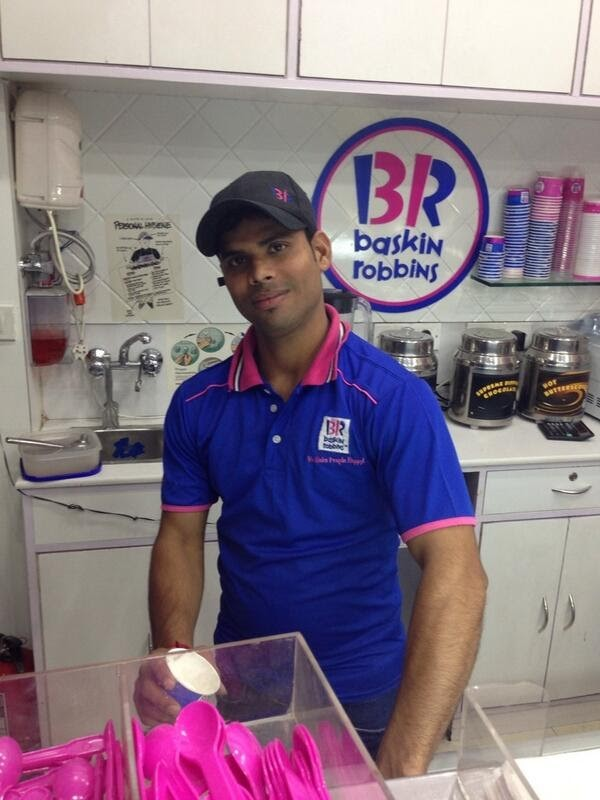 Baskin Robbins Assistant Manager