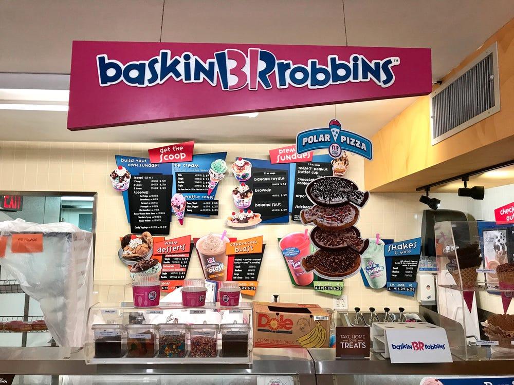 Baskin robbins benefits
