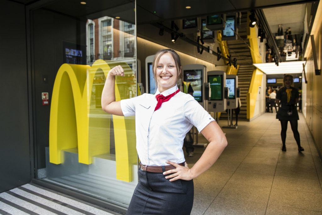 McDonald's manager