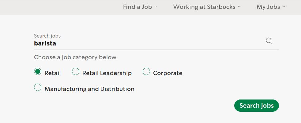 starbucks application