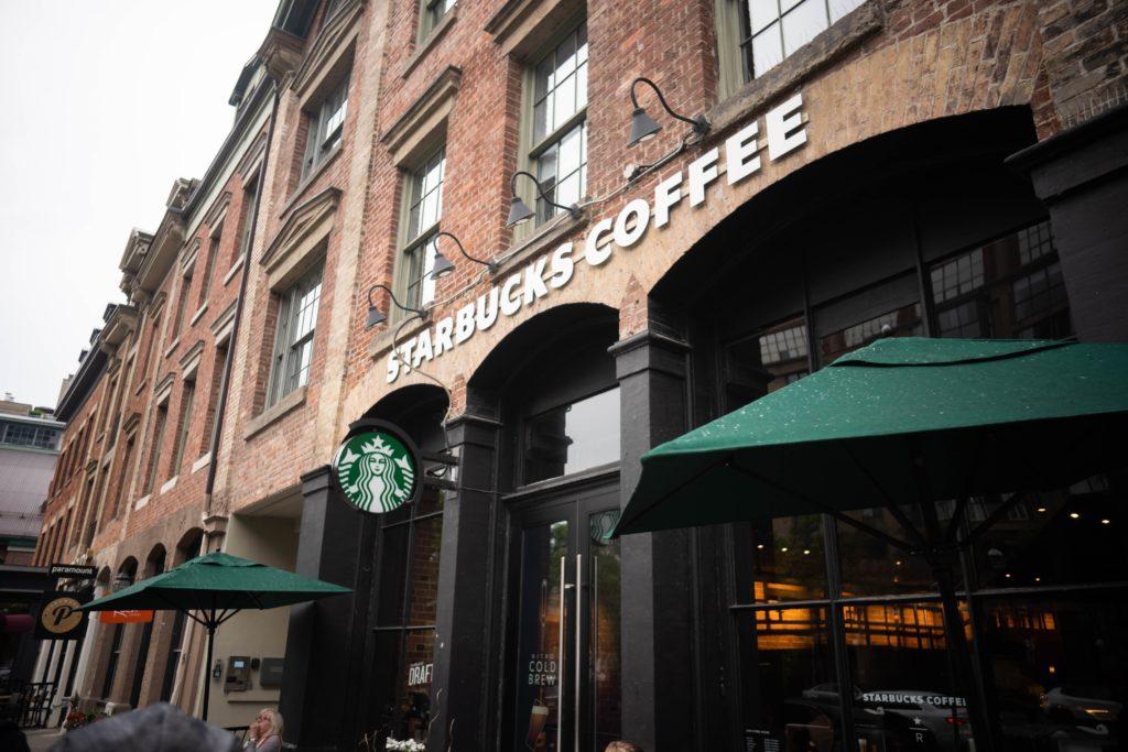 Starbucks Coffee restaurant